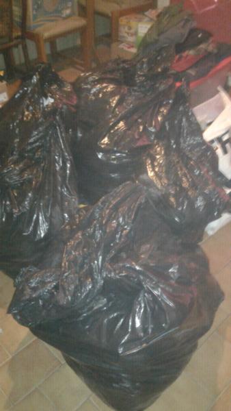 Bolsas de ropa usada