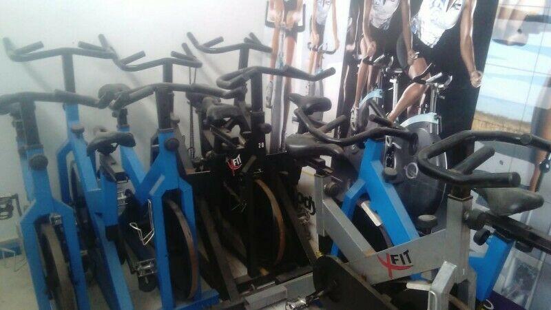 Lote de 10 bicicletas usadas para indoor spining etc... con
