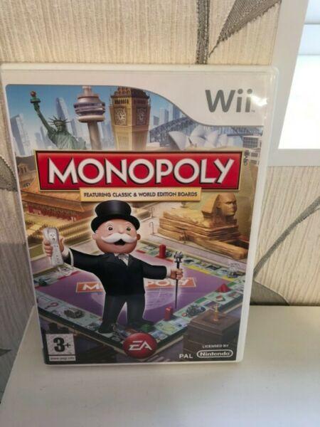 Monopoly Wii juego fisico, genuino.