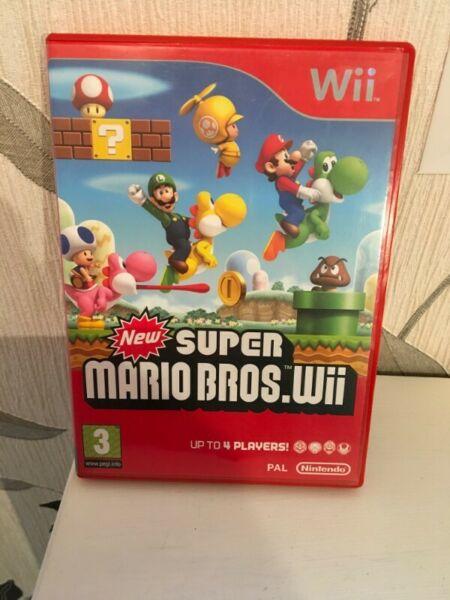 New Super Mario Bros Wii juego fisico, genuino