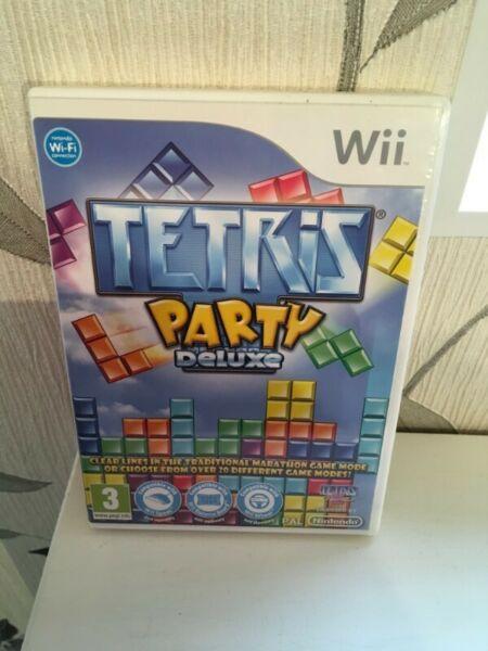 Tetris Party Deluxe Wii juego fisico, genuino