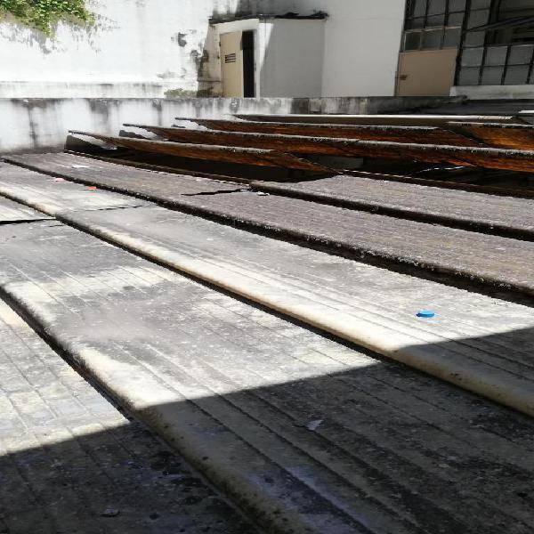 Toldo Aluminio Plegable Antiguo Buen Estado 6 metros x 4,70