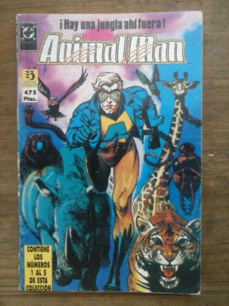 DC Comic Animal Man de Grant Morrison