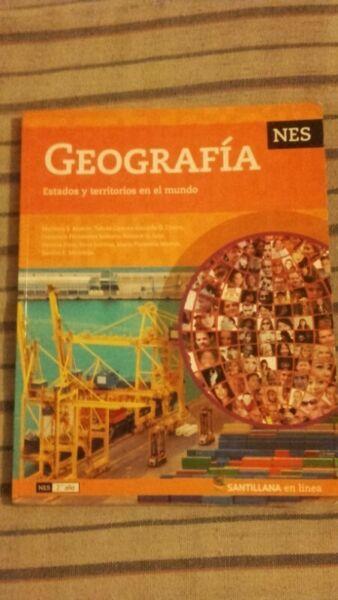 Libro de geografia santillana