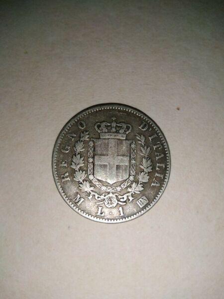 Moneda antigua de Italia