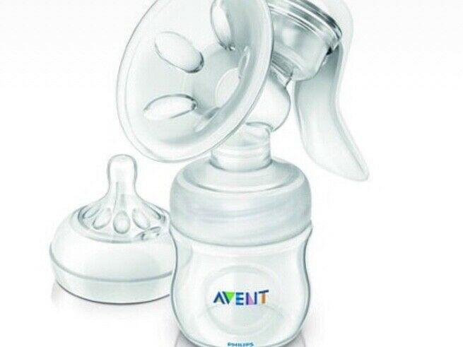 Vendo extractor de leche casi Nuevo solo 4 uso marca avent
