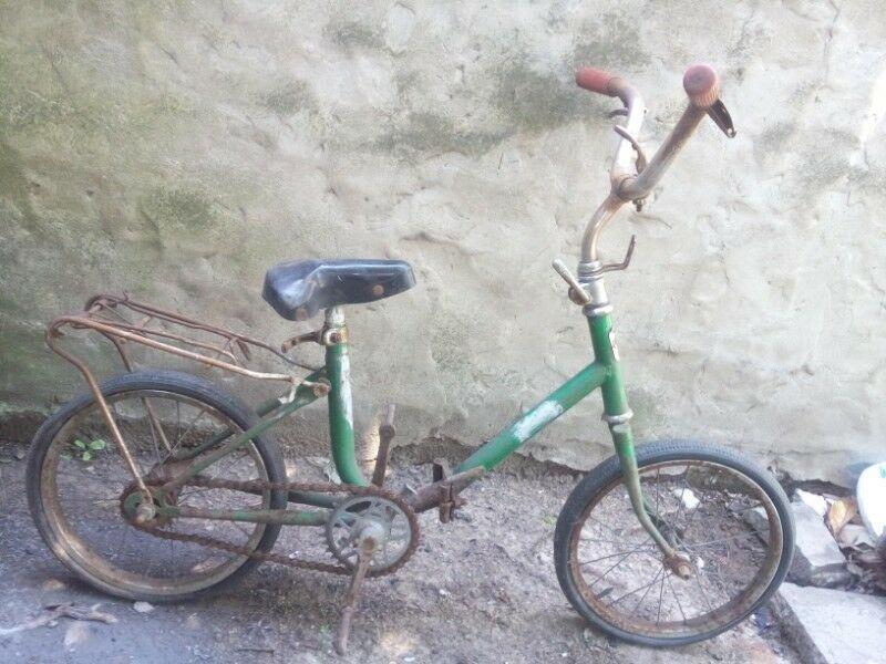 Bicicleta para niños antigua Luxe rodado 14