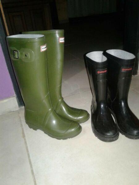 Botas de lluvia con poco uso, estado impecable