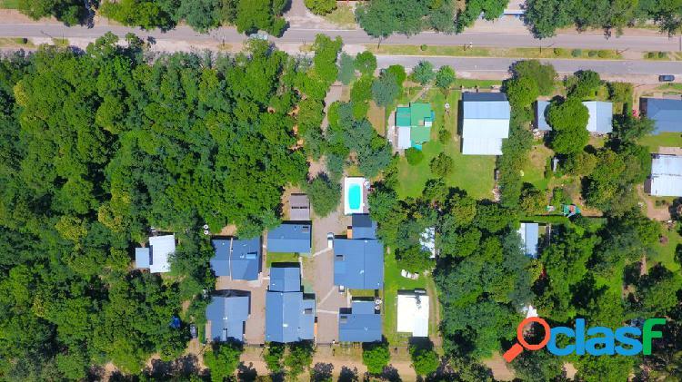 Excepcional complejo de cabañas en Villa Ciudad Parque Los