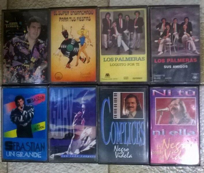 Lote De Cassettes De Cumbia Y Cuarteto