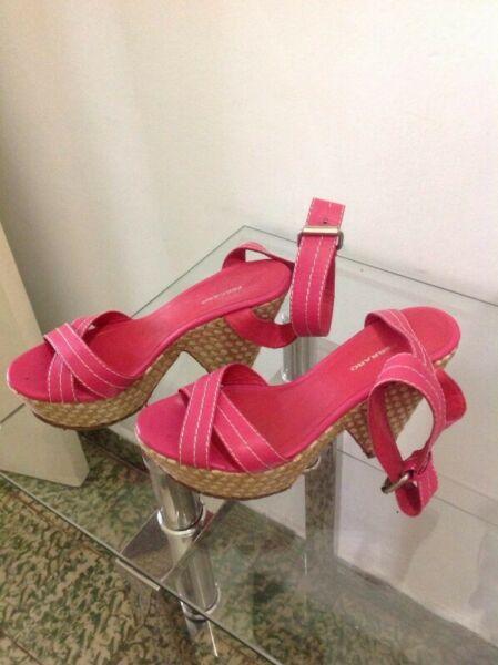 Sandalias de cuero N*37