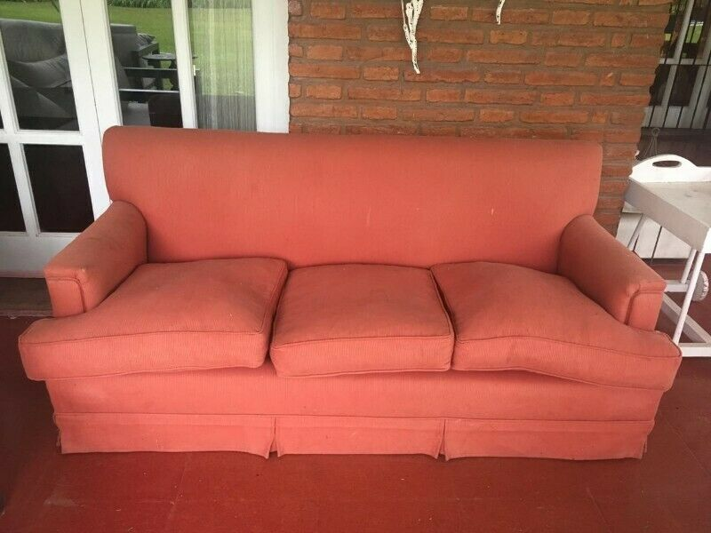 Vendo sillón 3 cuerpos (usado) $
