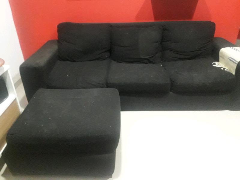 Vendo sillon de 3 cuerpos tela chenille