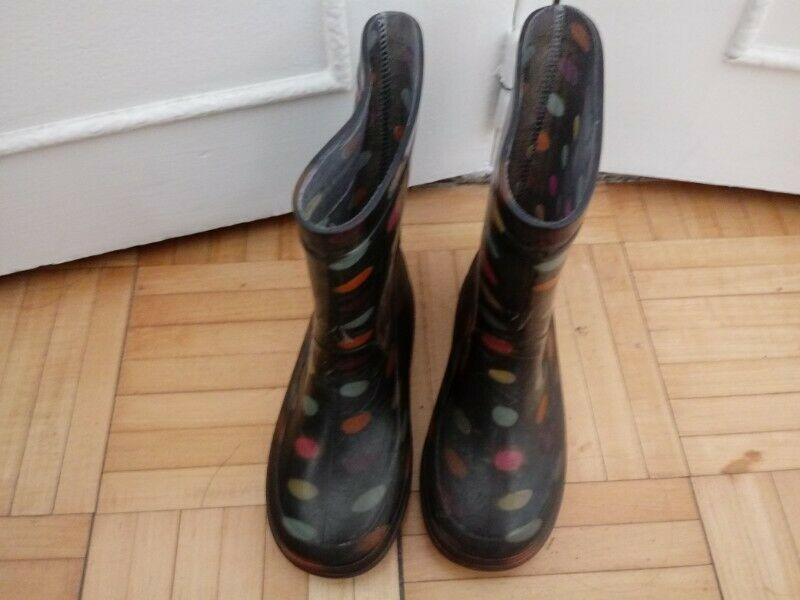 Botas de lluvia de nena