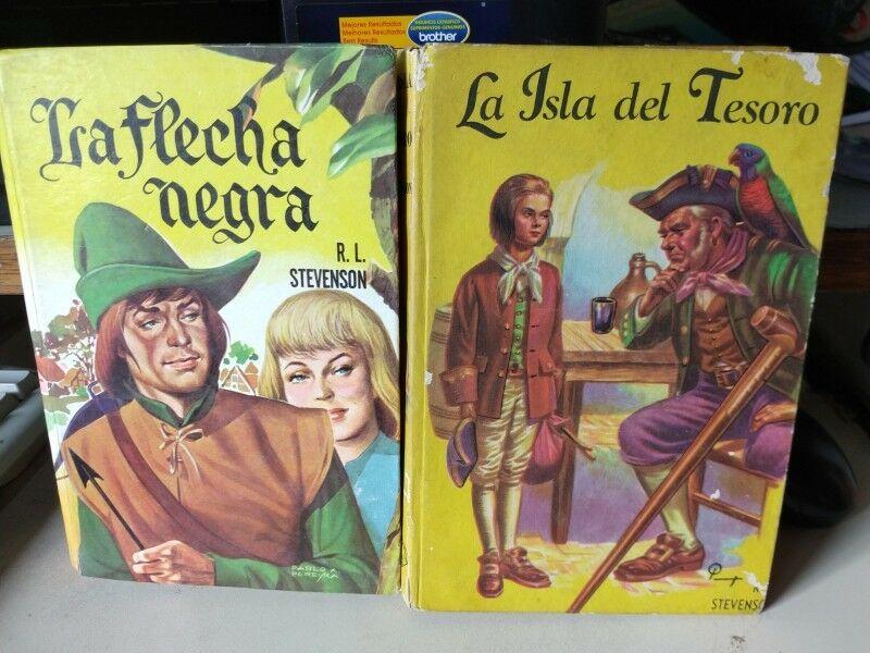 La Isla del Tesoro y Flecha Negra - Robert Stevenson Col.