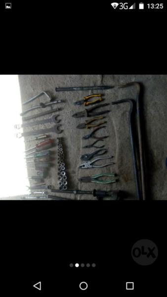 Vendo herramientas usadas