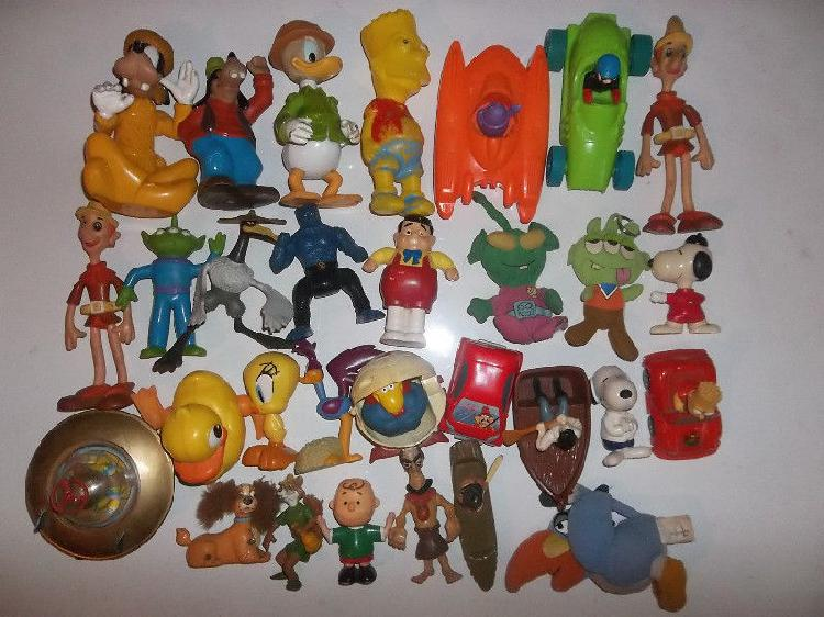 muñecos de McDonalds y varios