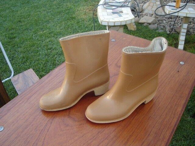 Botas de mujer de agua talle 36