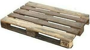 Pallets de madera en buen estado 110 x 100 cm $ 100 c/u.