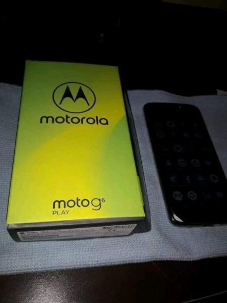 Vendo moto G6 Play liberado en caja