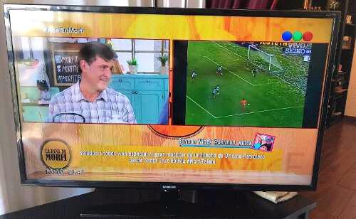"Tv led samsung 40"" muy poco uso seminuevo full hd usb pmto x"