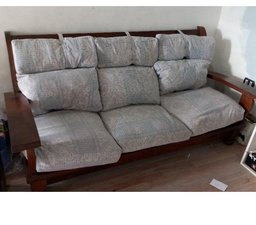 sillón de algarrobo 5 cuerpos
