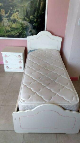 Cama Cuna funcional con marinero, opcional (colchón y