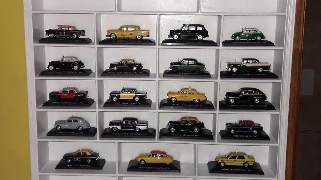 Coleccion Taxis Del Mundo Impecables