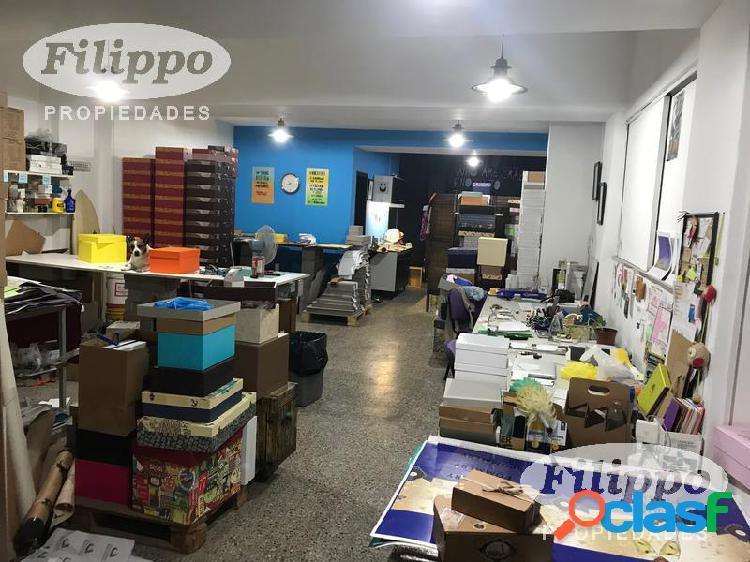 Alquiler LOCAL - DEPOSITO 170m2 Villa Crespo