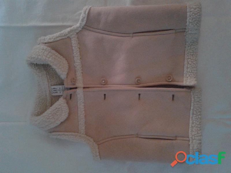 Chaleco Old Navy By Gap import. piel interior18 24m nuevo se
