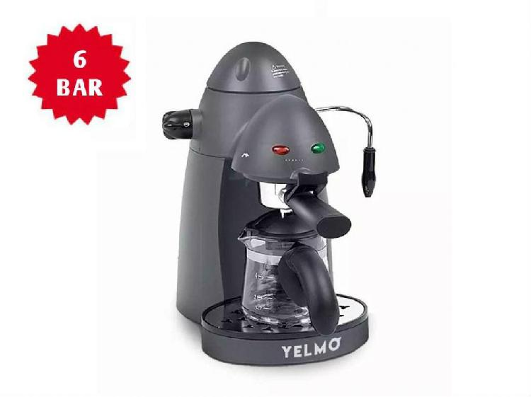 CAFETERA EXPRESS YELMO 6 BAR 800W CE5106 // NUEVAS CON