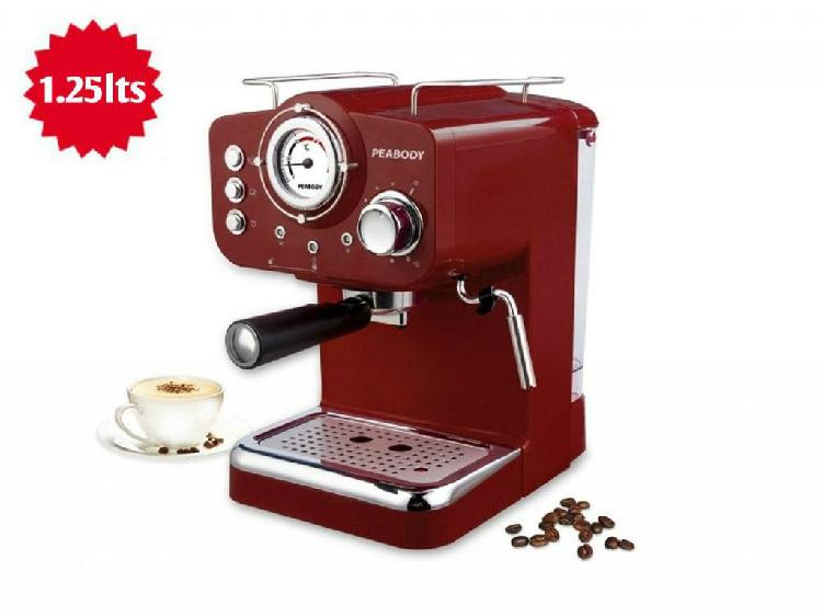 Cafetera Express PEABODY PECE5003R 20 BAR