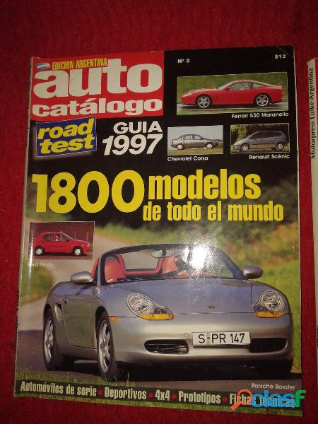 Auto Catalogo N 2 Road Test Guia 1997 Perfecta