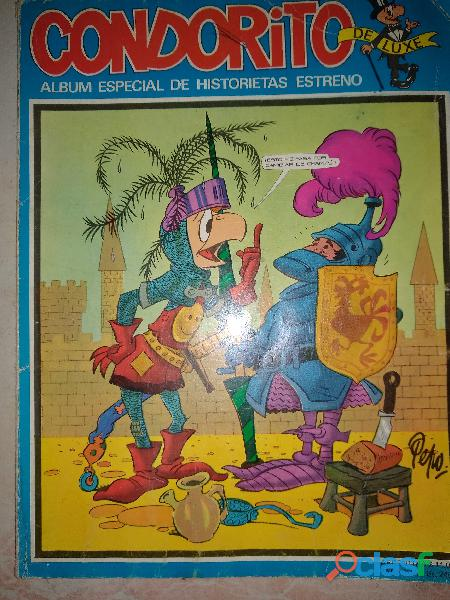 Condorito De Luxe Album Especial Historietas Estreno Nro 9