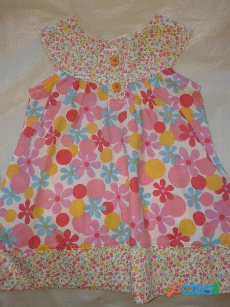 Vestido Colorin Colorado 9 Meses Floreado nuevo use 1 vez