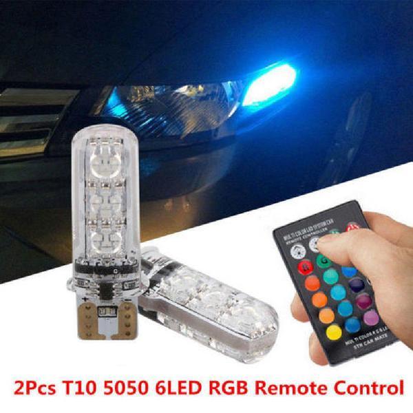 Luz Led Posición Autos O Motos Rgb Chip