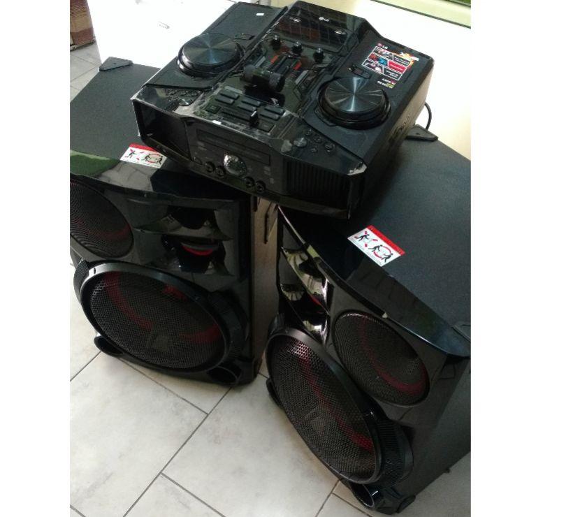 Sistema De Audio Lg Modelo Cm Excelente Estado!!