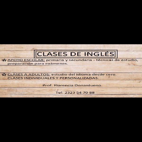 Clases de Inglés en Luján