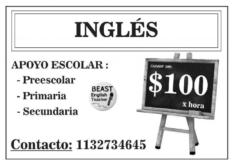Particular de ingles OFERTA 2X $170