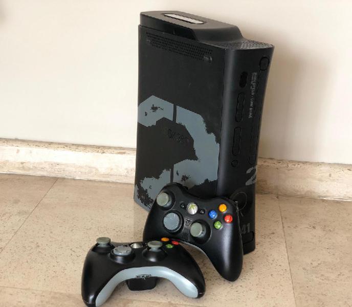 Xbox 360 250GB Chipiada 2 Controles originales Juegos
