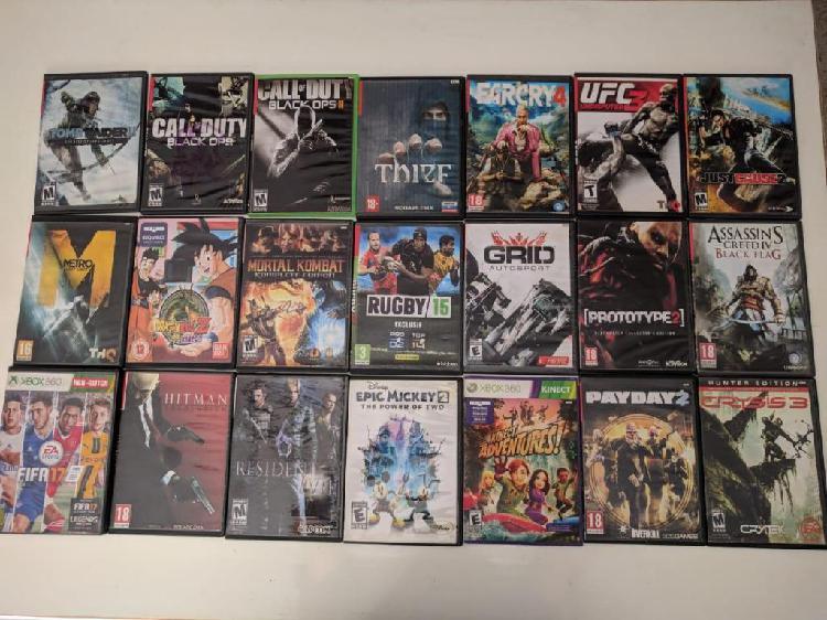 Xbox 360 4g Kinect y 21 juegos Flasheada