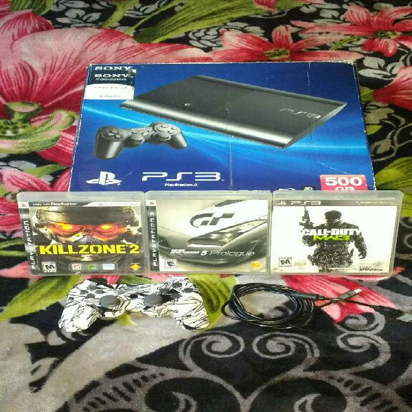 Vendo Ps3 Sony con Todo en Caja