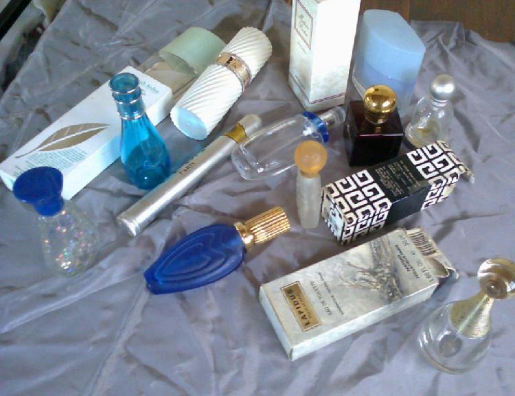 Lote De 15 Frascos Vacíos Perfume Importado para