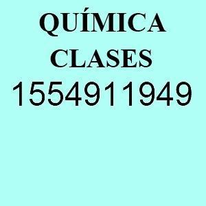 Clases particulares de Química Profesor en Belgrano Nuñez