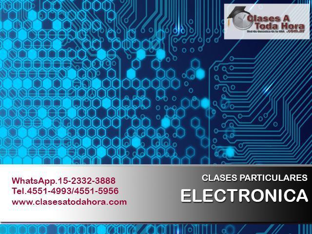 Clases particulares de electrónica electrotecnia y