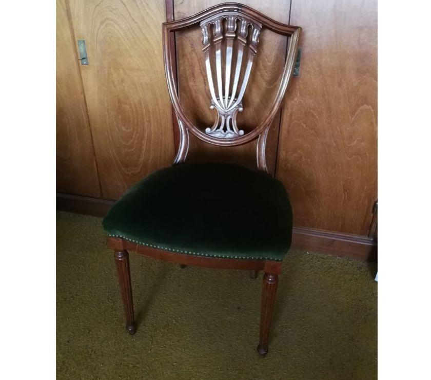 sillas de cedro -estilo ingles