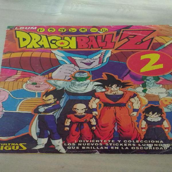 Album de figuritas Dragon Ball Z 2