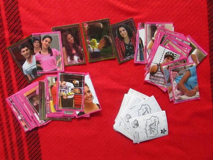 Figuritas Violetta Segunda Temporada – lote SM20J0319