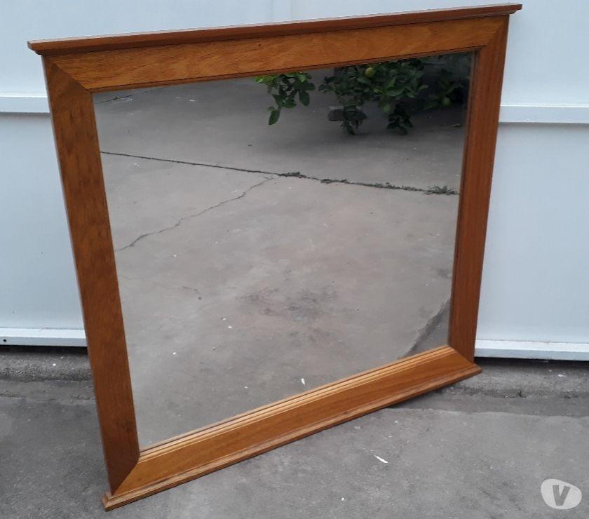 Espejos con marco de Roble macizo 90x90. NUEVOS