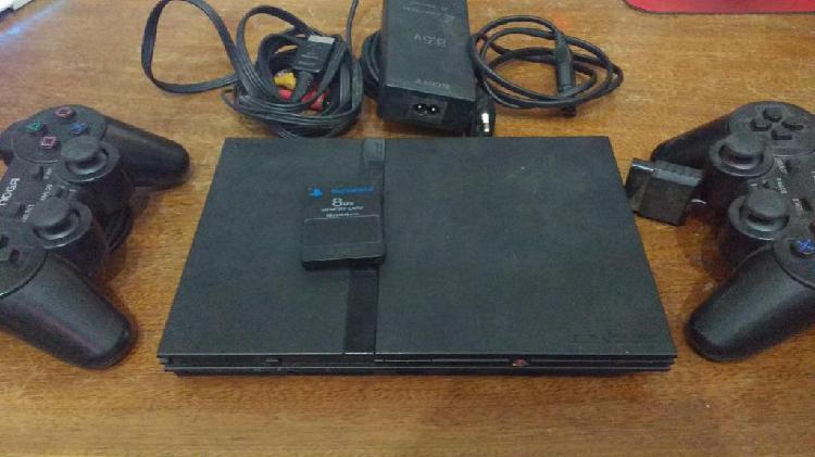 Playstation 2 PS2, 2 Joysticks Noga Memory Card 8MB Variedad